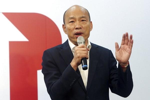 Former Kaohsiung Mayor Han Kuo-yu.