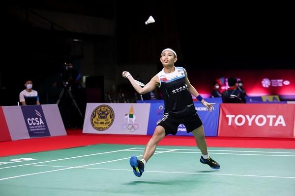 Tai Tzu-ying advances to second round at Toyota Thailand Open. (Badminton Association of Thailand photo)