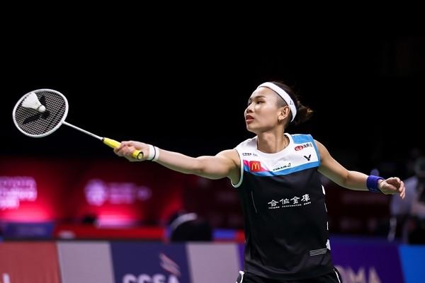 Taiwan badminton star advances at Toyota Thailand Open