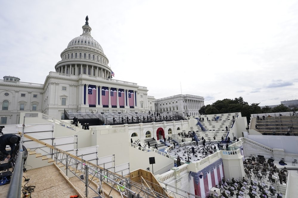 Washington, D.C. preparing for the presidential inauguration