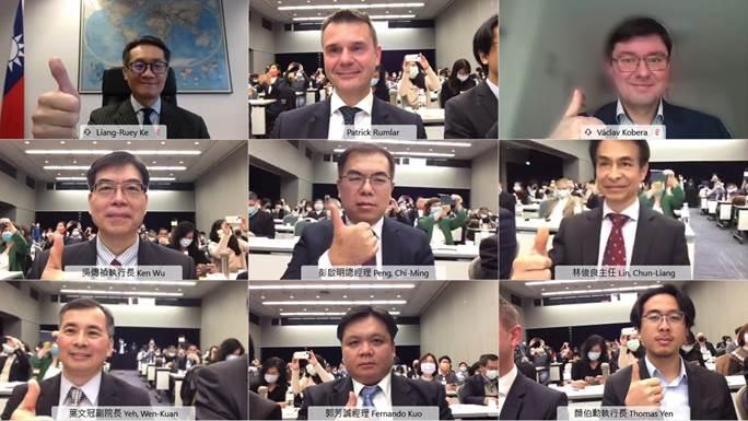 台捷友好!太空科技產業研討視訊會議   共拓低軌通訊衛星產業商機