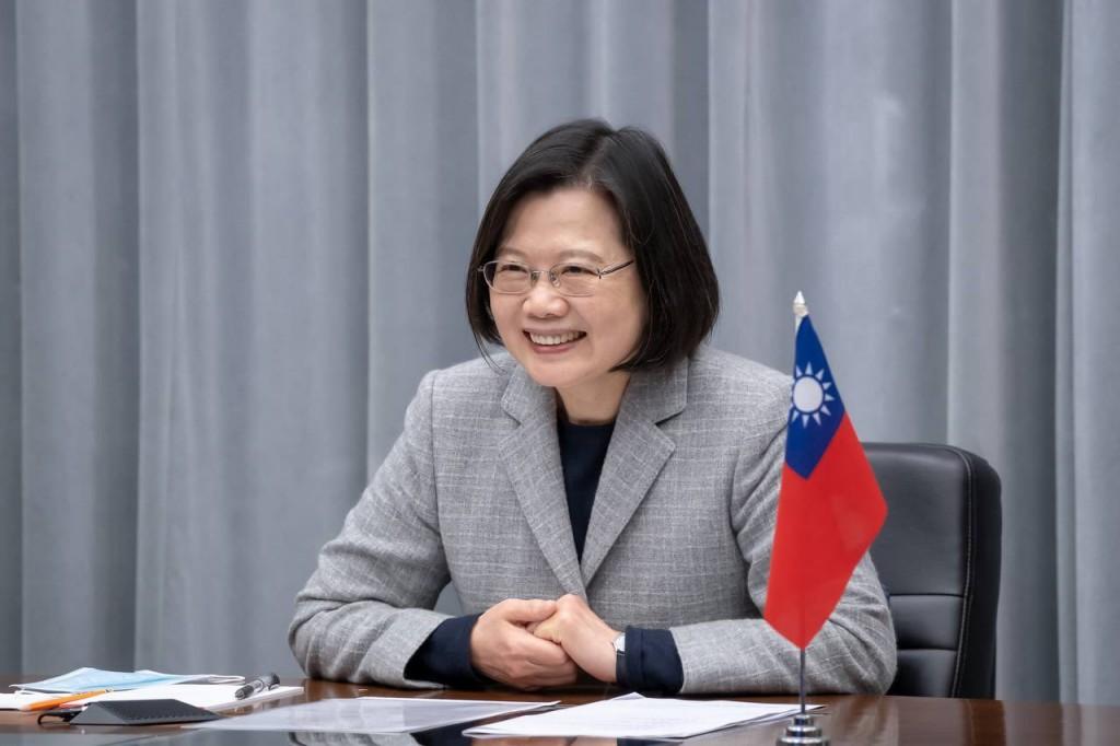 Taiwan President Tsai Ing-wen. (Twitter, Tsai Ing-wen photo)