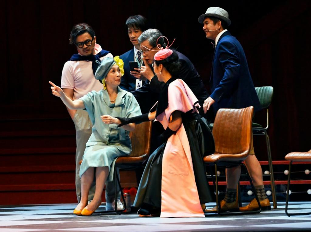 繼高雄首演後,舞台劇《明星養老院》將於台中及台北巡演(圖/金星文創)