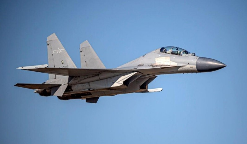 15 Chinese military planes intrude into Taiwan's ADIZ