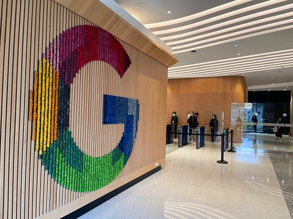 Google opens new office in Banqiao District, New Taipei City.