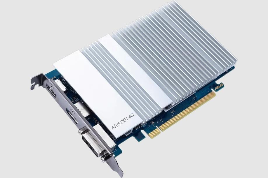 Iris Xe graphics card (Intel photo)