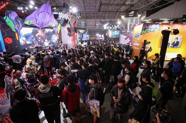Taipei Game Show is being held Jan. 28-31 atNangang Exhibition Center.