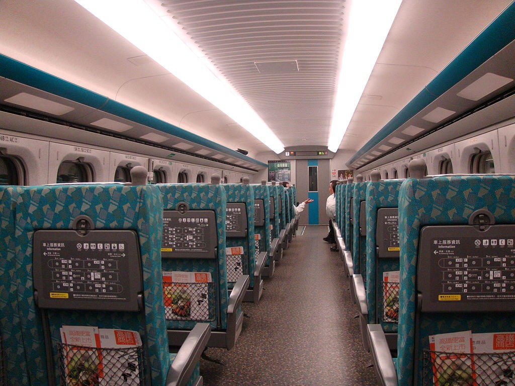 Taiwan introduces restrictions on Lunar New Year holiday train seating (Wikimedia, mailer_diablo photo)