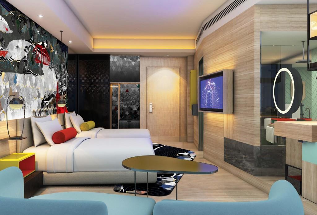 台北大直英迪格酒店「新春福禮」住房專案
