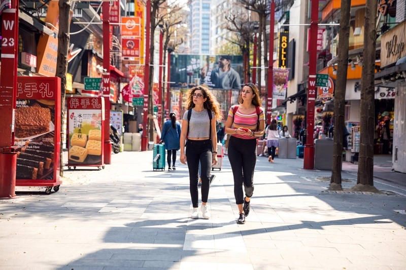 Foreigners in Taipei(Getty Images)