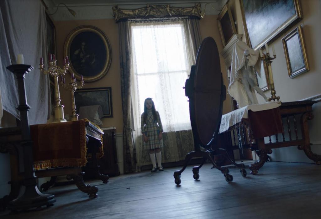 恐怖片《波麗萊多里鬼屋》將於3月12日全台正式上映。(圖/威視影業)