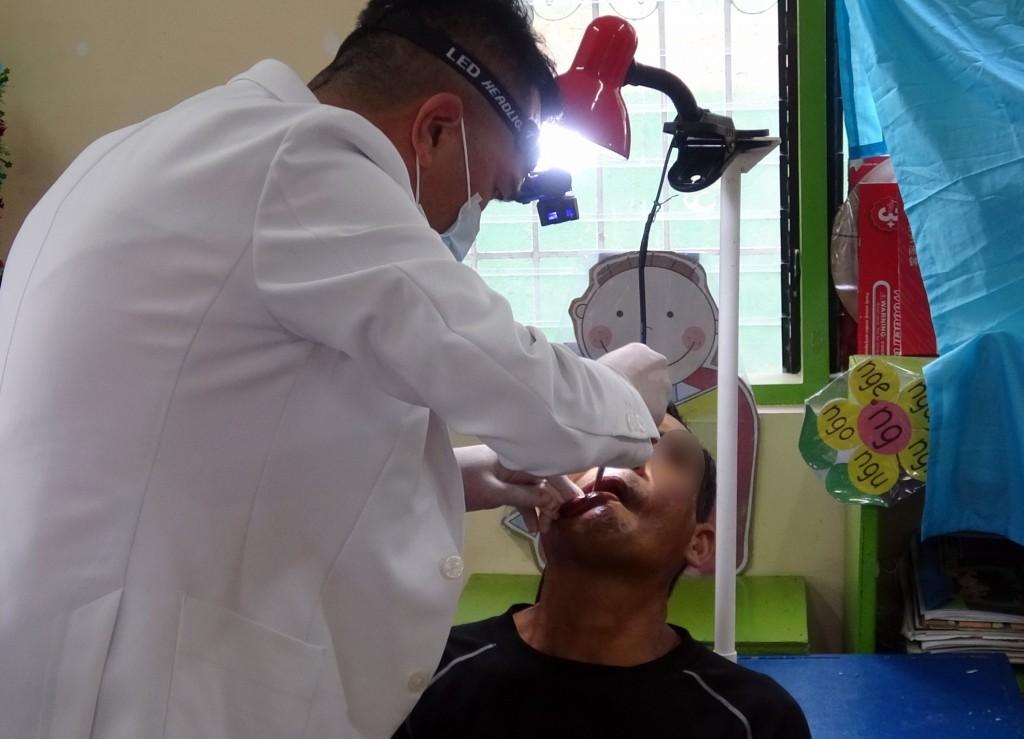Stock image of dental procedure.