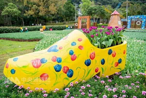 Flowers at the Chiang Kai-shek Shilin Residence Park