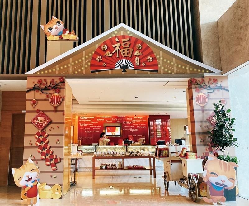 香格里拉台南遠東飯店 來玩躲貓貓