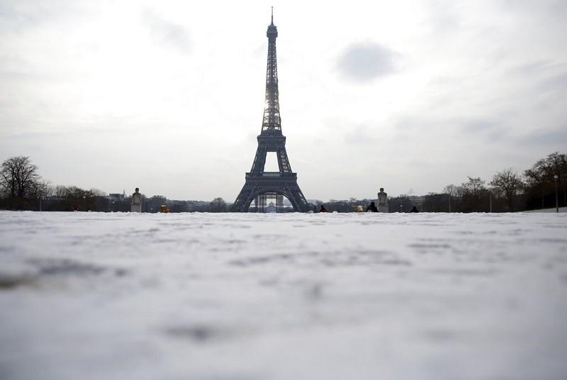 法國艾菲爾鐵塔(圖/美聯社)
