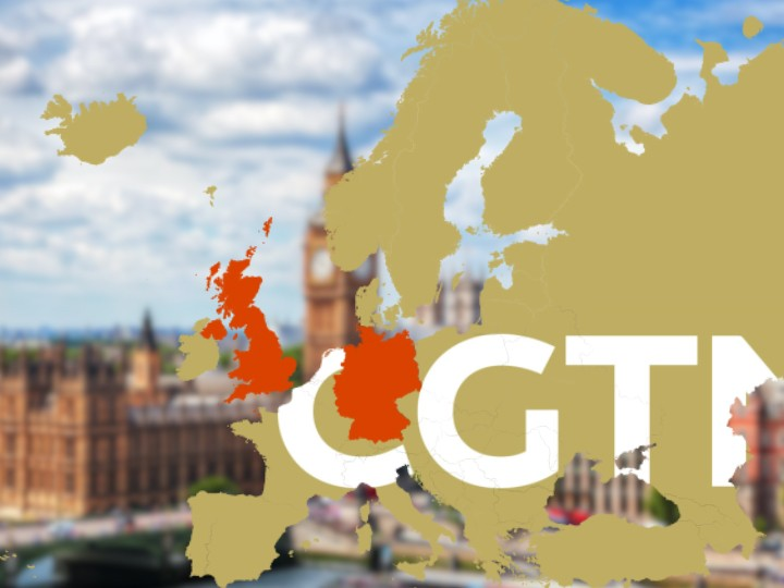 CGTN can now broadcast programs throughout Europe, including in U.K.