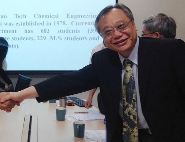 NTUchemical engineering professorLee Duu-jong.