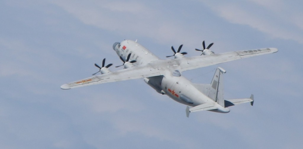 Chinese Y-8 REECE (MND photo)