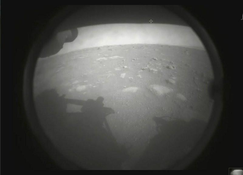 毅力號傳回火星畫面(圖/美聯社)