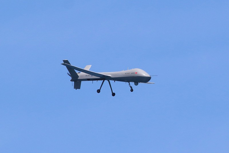 Taiwan indigenous drone crashes in Taitung