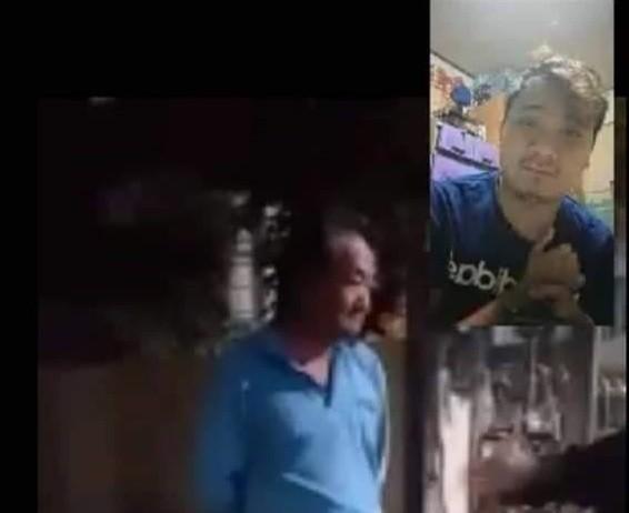 Ming-jen (left), Eh-chen (right). (Facebook, Chen Chen screenshot)