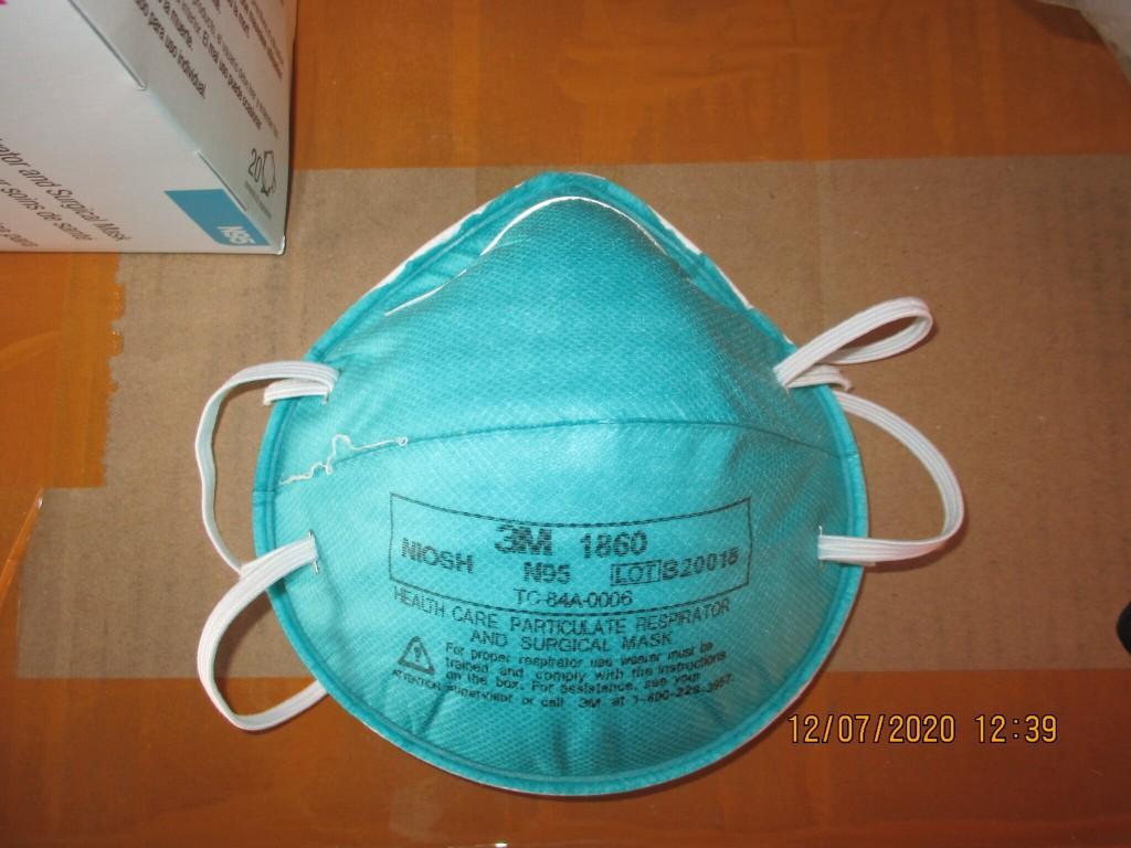 Fake 3M N95 surgical mask