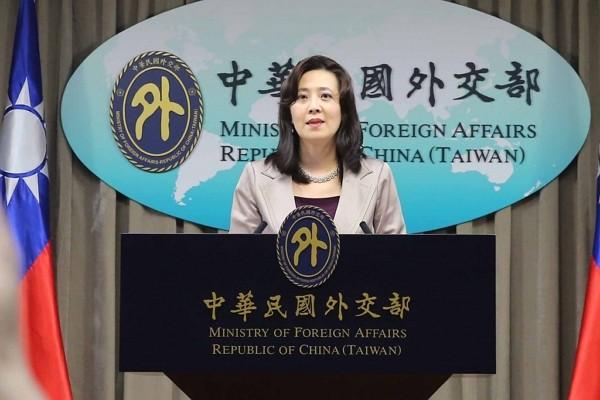 外交部發言人歐江安。