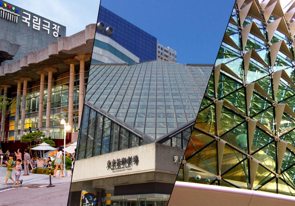 兩廳院與東京藝術劇場、韓國首爾國立劇場、新加坡濱海藝術中心合作成立亞洲製作人平台(圖/兩廳院)
