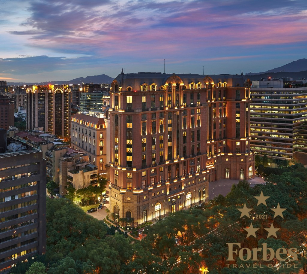 Mandarin Oriental, Taipei achieves top Ratings for the fifth consecutive year in the 2021 Forbes Five-Star awards