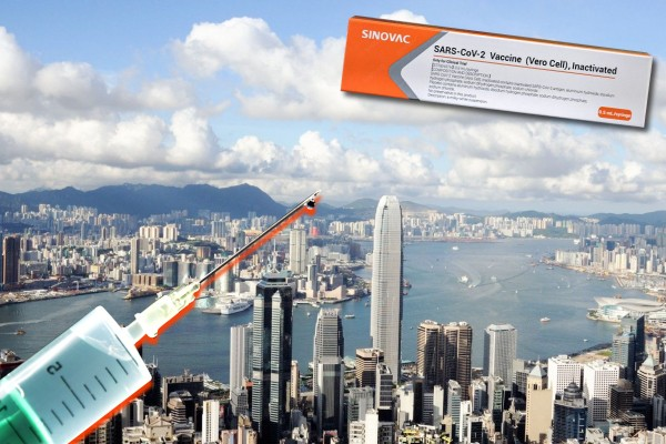 Hong Kong to begin vaccinating citizens with CoronaVac