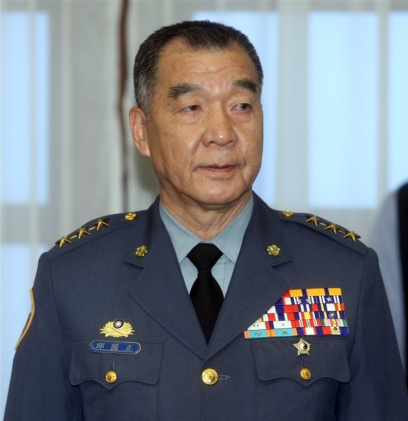 Minister of National Defense Chiu Kuo-cheng