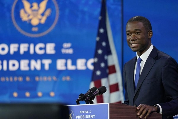 Wally Adeyemo, nominee for U.S. deputy Treasury Secretary