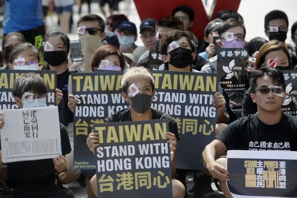 香港泛民47人遭控顛覆罪 民進黨:憤慨震驚
