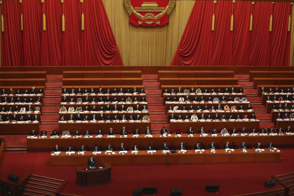 Last year's National People's Congress meeting in Beijing