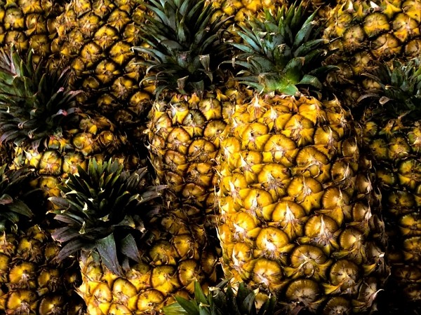 China placed a sudden ban on Taiwanese pineapples Feb. 26.