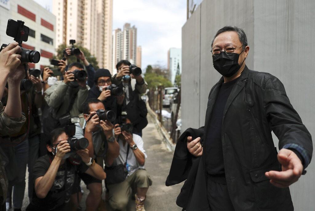 前港大法學教授、2014年香港佔中發起人戴耀廷也是28日遭起訴的47名香港民派之一(照片:美聯社)