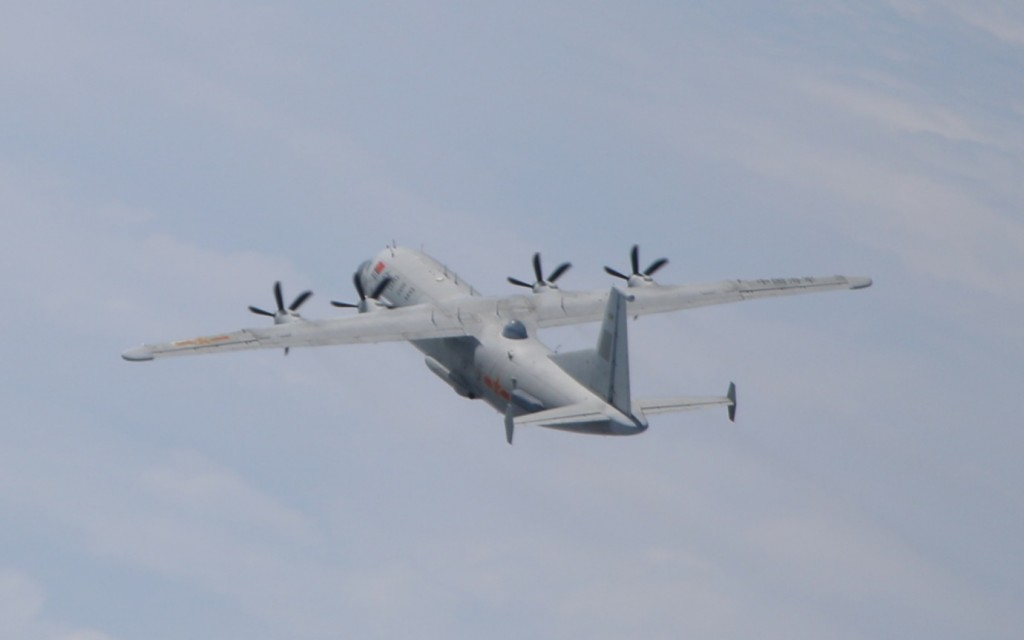 2 Chinese military turboprops intrude into Taiwan's ADIZ