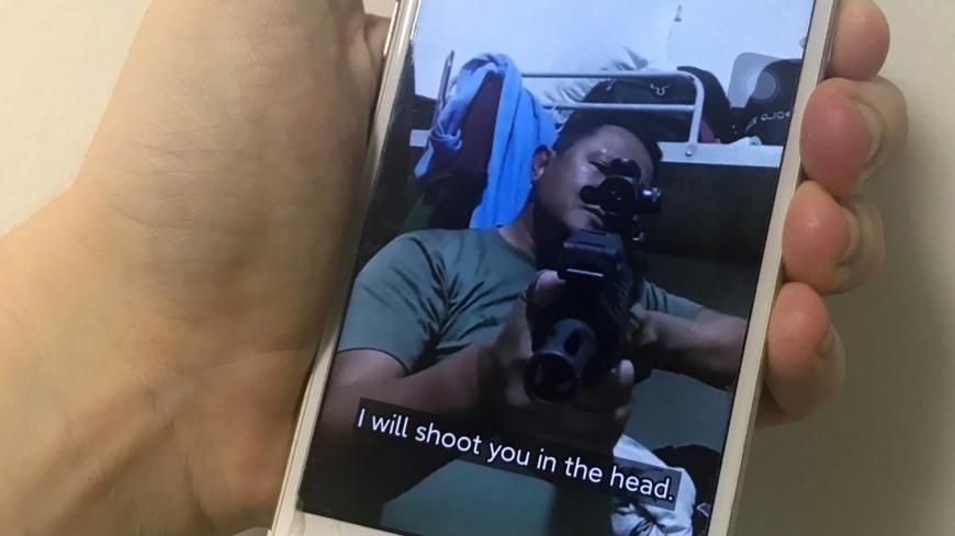 緬甸軍警在TikTok上掠下狠話,冷血程度引發國際撻伐。(圖/路透社)