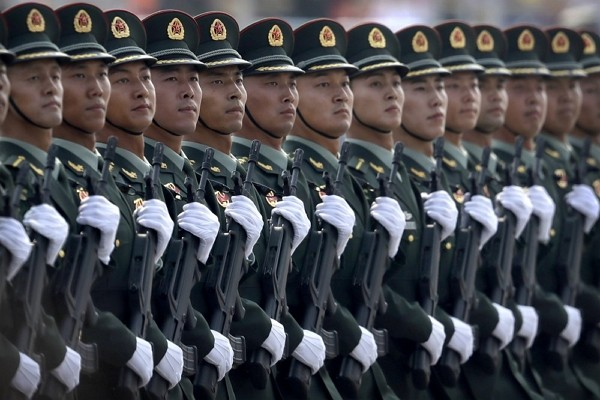 China is increasing its defense spending by 6.8% in 2021 as it works to maintain a robust upgrading of the armed forces.