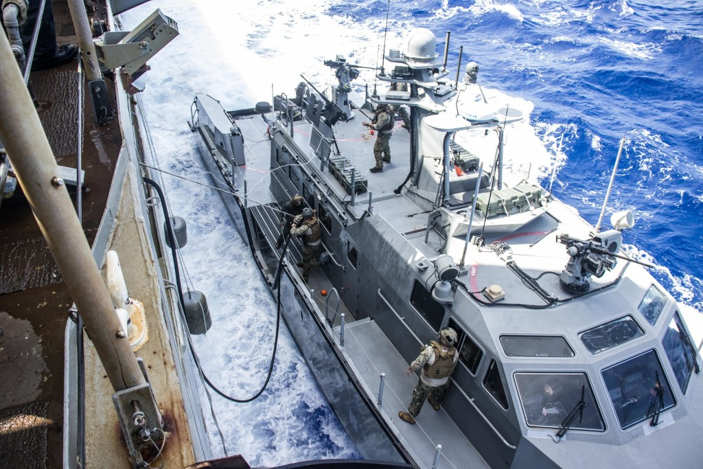 US Navy drills in Philippine Sea in February2021. (Facebook, US Navy photo)