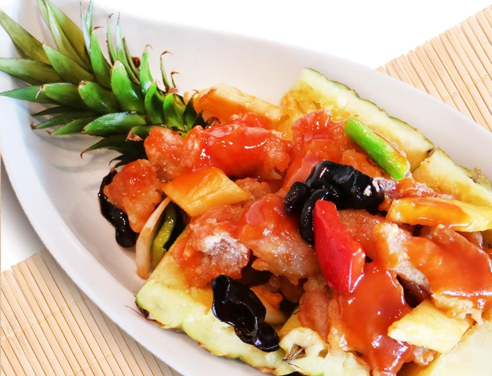 香格里拉台南、台北遠東國際大飯店 情義相挺在地好農 攜手推出鳳梨入饌