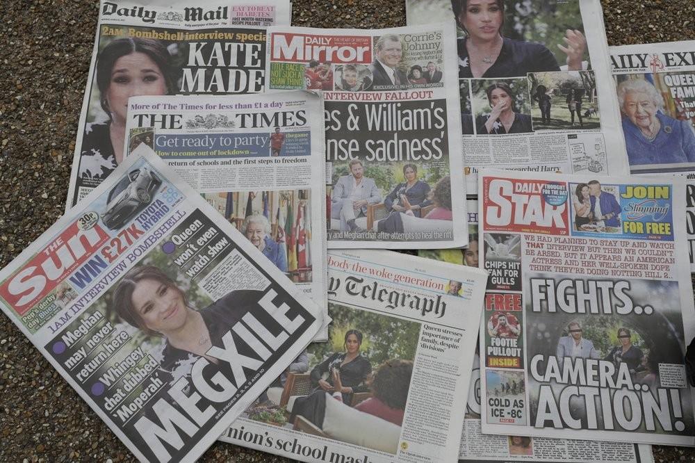 梅根爆炸性專訪激怒媒體 英國小報群起圍攻