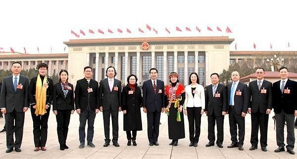 'Taiwan deputies' at China's NPC voice support for cross-strait unification
