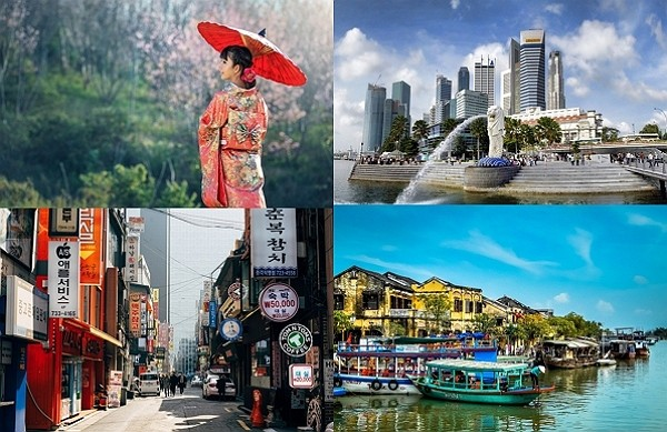 """Taiwan in """"travel bubble"""" talks with Japan, Singapore, South Korea, and Vietnam. (Pixabay photo)"""