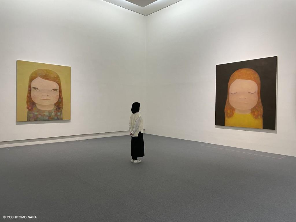 奈良美智特展呈現藝術家代表作及最新創作撫慰人心(圖/文化總會提供)