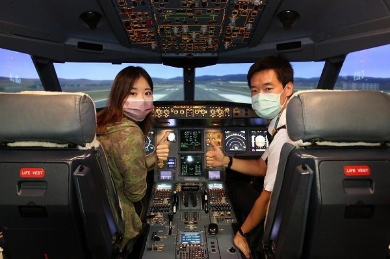 長榮機長空服員體驗營好評不斷(圖/長榮航空)