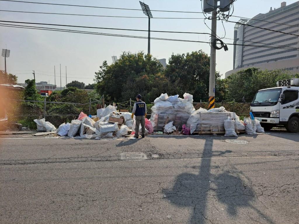 環警聯手 24小時內破獲不法業者非法棄置廢棄物