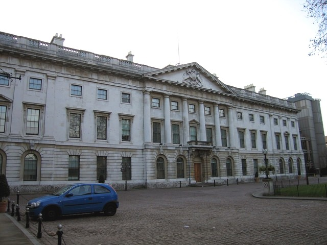 China's next embassy in London, the Royal Mint Court building in Tower Hamlets (Wikicommons, Julie Cookson photo)