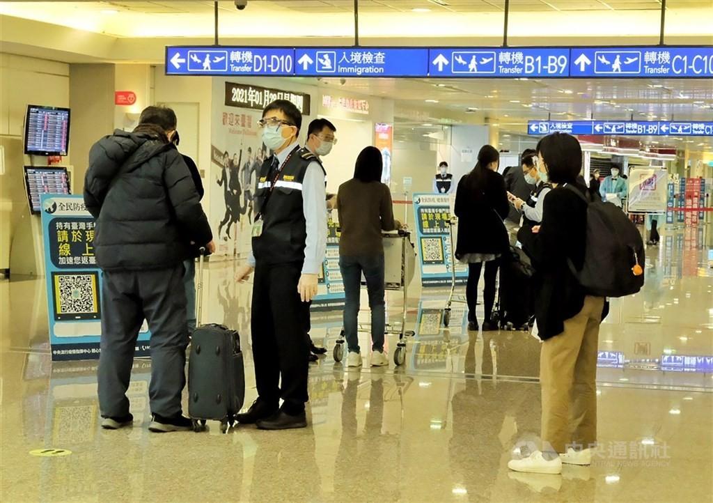 台灣3/21增一例新冠境外移入 個案自波蘭入境