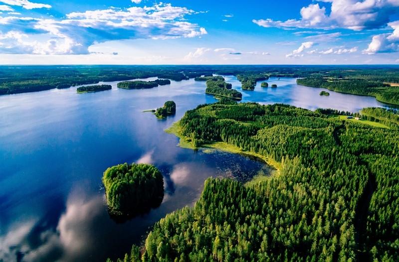 芬蘭湖泊(Getty Images)